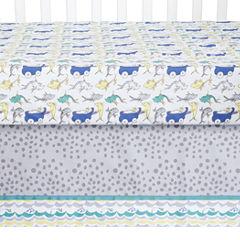 Dr Seuss New Fish 5-pc Crib Bedding Set