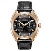 Citizen Mens Black Strap Watch-Bu4013-07h