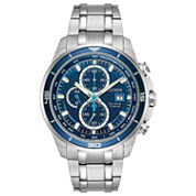 Citizen Mens Silver Tone Bracelet Watch-Ca0349-51l