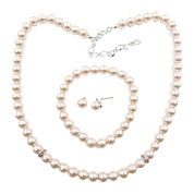 Vieste Rosa Womens 3-pc. Brass Jewelry Set