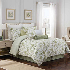 Williamsburg Burwell 4-pc. Floral Comforter Set