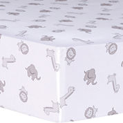 Trend Lab® Safari Chevron Animals Fitted Crib Sheet