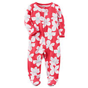 Carter's Girl Pink Footed Sleep-N-Play