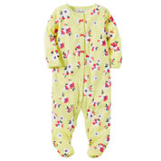 Carter's Girl Yellow Footed Sleep-N-Play