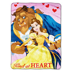 Disney Beauty and the Beast Throw