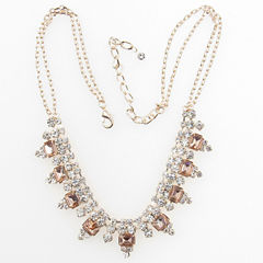 Vieste Rosa Pink Statement Necklace