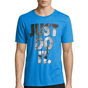 Nike® Just Do It Photo Fill Tee