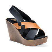Muk Luks Beth Womens Heeled Sandals
