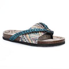 Muk Luks® Elaine Double Strap Sandals