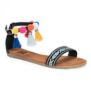Muk Luks Anaya Womens Flat Sandals