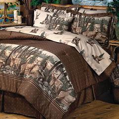 Blue Ridge Trading Whitetail Dreams Comforter Set Twin Heavyweight Comforter Set
