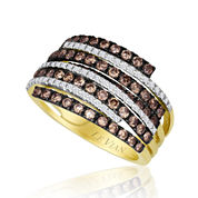 LIMITED QUANTITIES Le Vian Grand Sample Sale 1¼ CT. T.W. White and Chocolate Diamond® Ring