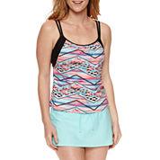 Splashletics Layered Tankini or Swim Short
