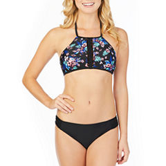 Ambrielle Braided Front High Neck or Side Tab Cheeky Hipster