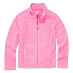City Streets Girls Lightweight Fleece Jacket-Big Kid