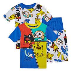 4-pc. Pokemon Kids Pajama Set Boys
