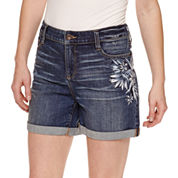 St. John's Bay Denim Shorts