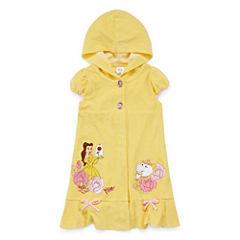 Disney Girls Beauty and the Beast Solid Dress-Big Kid
