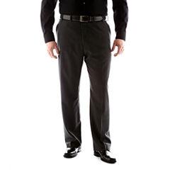 Van Heusen® No-Iron Extender Flat-Front Pants-Big & Tall
