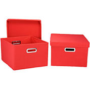 Household Essentials® 2-Piece Side Storage Bin Set
