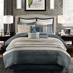 Madison Park Harlem 12-pc. Jacquard Comforter Set