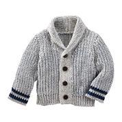 Baby B'gosh® Marled Shawl Collar Cardigan - Baby Boys newborn-24m