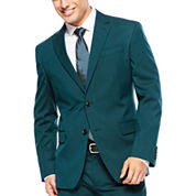 JF J. Ferrar® Teal Suit Jacket - Slim Fit