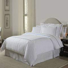 Pointehaven Embroidered 3-pc. Duvet Set & Accessories