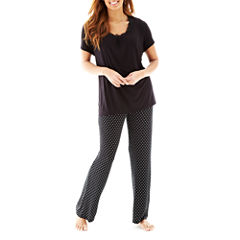 Ambrielle® Sleep Tee or Knit Pants - Plus