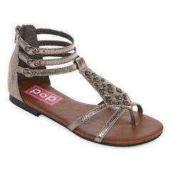 Pop Satiny Womens Strap Sandals
