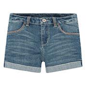 Levi's Denim Shortie Shorts - Preschool Girls