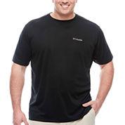 Columbia Sportswear Co. Short Sleeve Crew Neck T-Shirt-Big and Tall