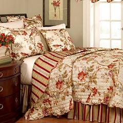 Waverly® Charleston Chirp Papaya Quilt Set & Accessories