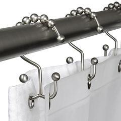 Maytex Double Glide Shower Curtain Hooks
