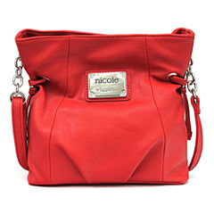 nicole By Nicole Miller Marie North/South Crossbody Bag