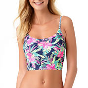 Arizona Floral Bra Swimsuit Top-Juniors