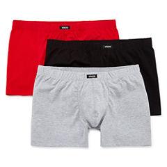 Rico 3-pk. Cotton Stretch Boxer Briefs