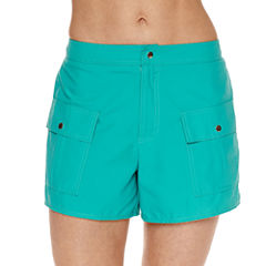 Pure Paradise Solid Board Shorts