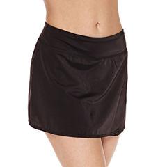 Pure Paradise Solid Swim Skirt