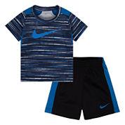 Nike Boys 2-pc. Short Set