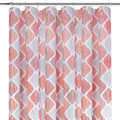 Colordrift Line Dance Printed Shower Curtain