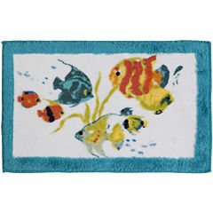 Creative Bath™ Rainbow Fish Bath Rug