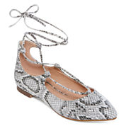 GC Shoes It Girl Lace-Up Skimmer Flats