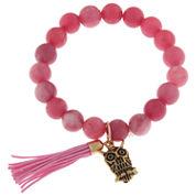 Capelli Of N.Y. Womens Beaded Bracelet