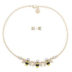 Liz Claiborne Womens 2-pc. Multi Color Jewelry Set