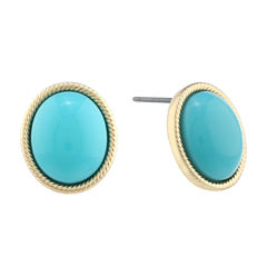 Monet Jewelry Blue Stud Earrings
