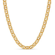 Gold Over Silver 24 Inch Chain Necklace