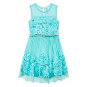 Knit Works Sleeveless Fit & Flare Dress - Big Kid
