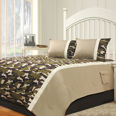 Riverbrook Home Camo 2-pc. Midweight Comforter Set