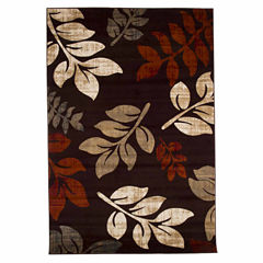 Cambridge Home Falling Leaves Rectangular Rugs